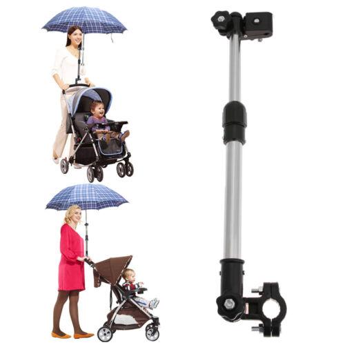 #Einstellbar Kinderwagen Schirmhalter Regenschirm Halterung Sonnerschirm DE
