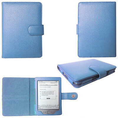 Genuine Leather Pouch Case Cover for Amazon Kindle 4 4th Generation Edition  BLU 345454761818 | eBay