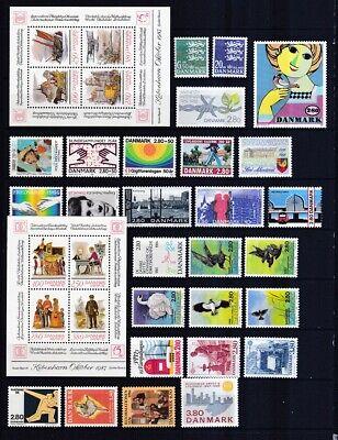 Dänemark Postfrisch Jahrgang 1986 Siehe Bild