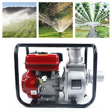 75hp 3kw Water Semi Trash Pump High Pressure F Garden Drainage Irrigation Red