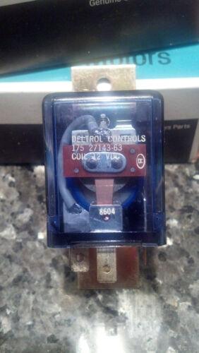 Deltrol Controls GM 2096192 Relay 12VDC