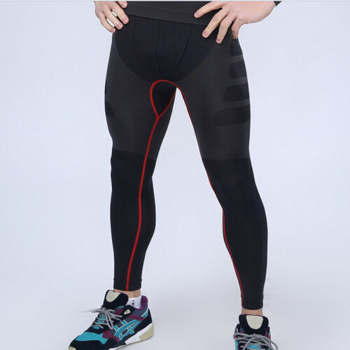 Mens Compression Under Base Layer Sports Running Shorts and Tights Pants Fitness