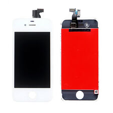 Replacement LCD Display Screen Touch Digitizer Assembly for iPhone 4S White+Tool