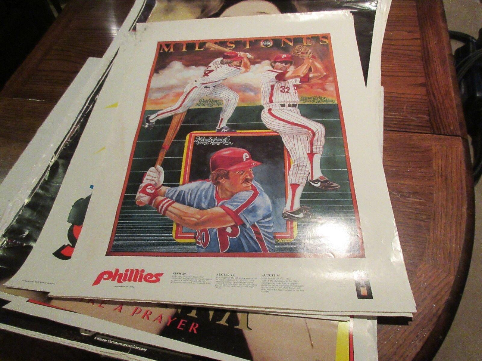 Philadelphia Phillies , Milestones , 1981 , Rolaids POS