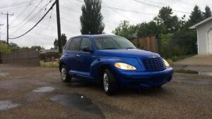 2005 Chrysler PT Cruiser (Good winters tires!)