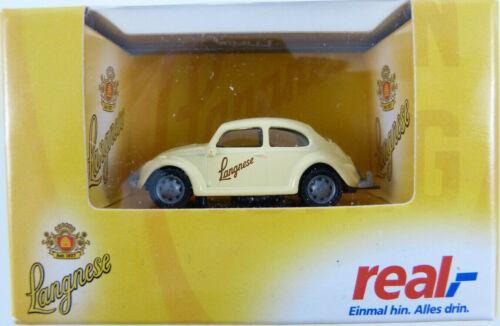 VW Escarabajo 1200 Langnese alta velocidad 1:87 h0 OVP k7