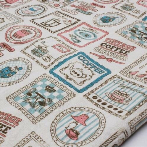 Picture frame Pattern Cloth Cotton Linen Fabric Sewing Pillow//curtain//tablecloth