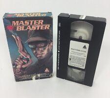 Master Blaster (VHS,1987) - Rare PRISM VHS Action Horror HTF Jeff Moldovan OOP ?