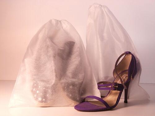 50 cushions tela cierre cord blancas grandes zapatos bolsos ropa 8 medidas