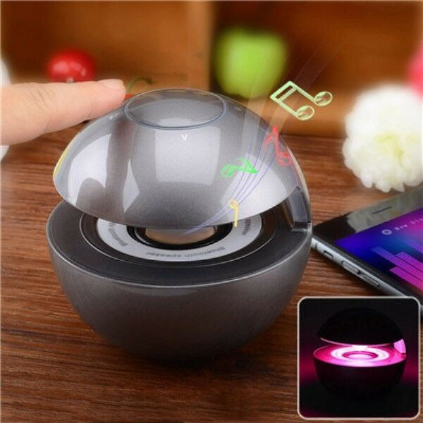POWERFUL Portable Wireless Bluetooth Stereo Mood Led Light Speaker  SD TF USB