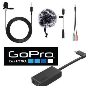 GoPro-Pro-3-5mm-Mic-Adapter-FOR-GOPRO-HERO7-BLACK-HD-LAVALIER-MICROPHONE-W-SC