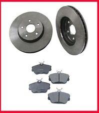 1996-1999 FORD SHO Front Brake Rotors & Ceramic Pads