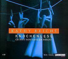 Knochenlese-von-Reichs-Kathy-Buch-Zustand-gut