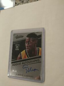 2016-17 Panini Absolute Caris LeVert Rookie  Autographs /99 auto RC Nets Pacers