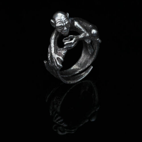 """handmade Details about  /Gollum /""""My Precious/"""" Ring The Lord of the Rings sterling silver"""