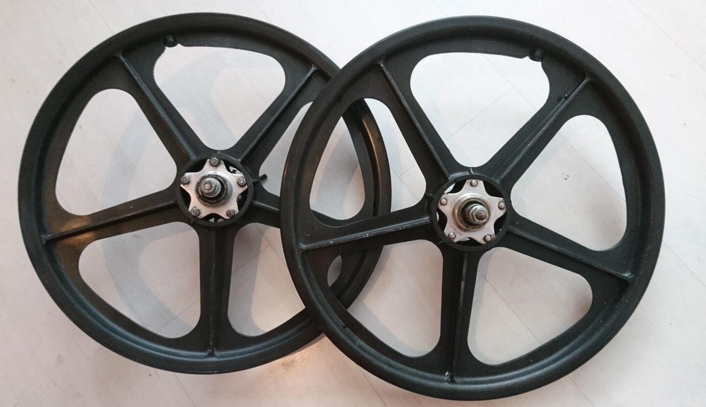 Old school SKYWAY bmx wheels GENUINE VINTAGE