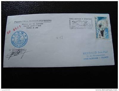 Yvert Und Tellier Nr.110 Briefmarke cy4 SorgfäLtig AusgewäHlte Materialien Taaf Brief 19/11/85
