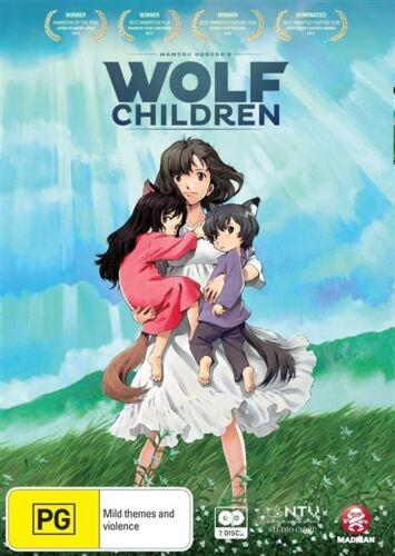 1 of 1 - Wolf Children (DVD, 2013, 2-Disc Set)