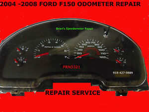 Image Is Loading 2004 2008 Ford F150 Odometer Cer Repair