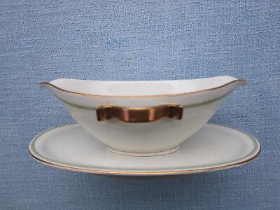 Sauciere Art Deco  Goldrand mit Verzierung Krautheim 8073
