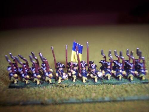 6mm Great Northern War Swedish Infantry, Baccus booster Pack