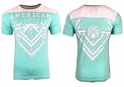 AMERICAN FIGHTER Mens T-Shirt COLBY Premium Athletic Biker MMA Gym UFC$40