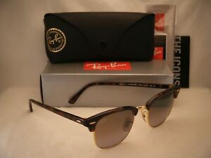 894b020e5c Ray Ban 3016 Clubmaster Red Havana w Green Gradient Mirror (RB3016 ...
