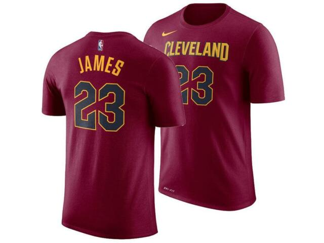 Cleveland Cavaliers LeBron James Nike NBA Women s Icon Player T-shirt Sz 2XL 45989c88e6