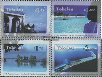 Sammlung Hier Tokelau 249-252 Postfrisch 1997 Südpazifik Kommission BüGeln Nicht kompl.ausg.
