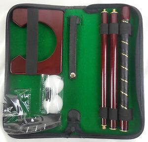 Selbstaufbarer-Golfschlaeger-Putter-3-Eisen-mit-Tasche-und-Zubehoer