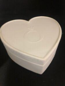 Pandora Heart Jewelry Case Bracelet Storage Travel Gift Box White Rare Ebay