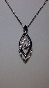 2600bd6fb SENSUAL* Kay Jewelers Sterling Silver Diamonds In