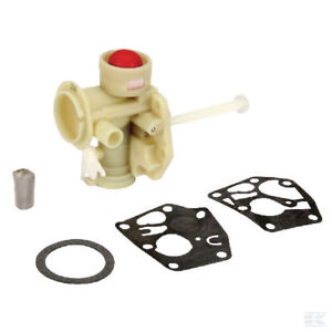 Details about GENUINE BRIGGS AND STRATTON CARBURETTOR 798758 NEW PLASTIC  TYPE