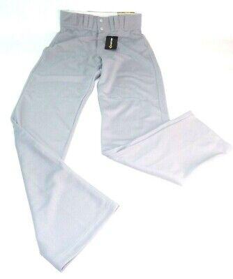 Easton Rival Adult Men/'s Baseball Pants Open Bottom A164461 Gray