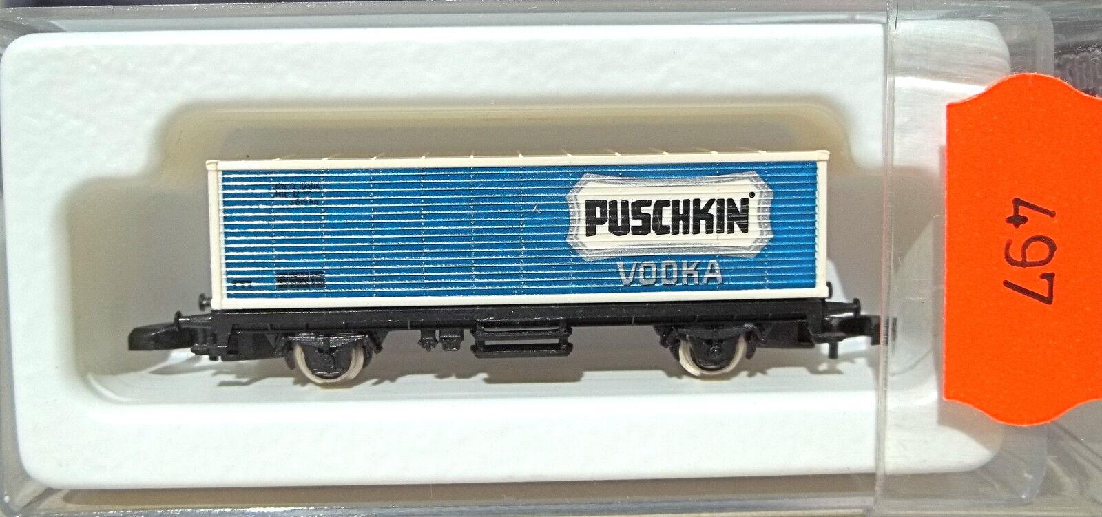 Puskin vodka, container Carrello partire 90001   8615 Z 1/220 * 497 *