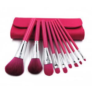 9Pcs Makeup Brushes Set Eyeliner Lip Powder Foundation Eyeshadow Brush set US