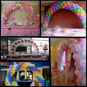 Wedding event all occasions balloon arch frame use air for Balloon arch frame kit party balloons decoration