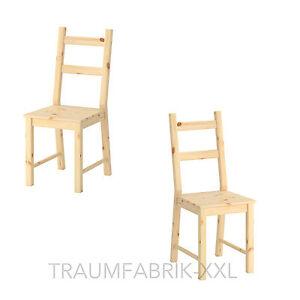 2x sedia sala da pranzo cucina moderno legno di abete ...