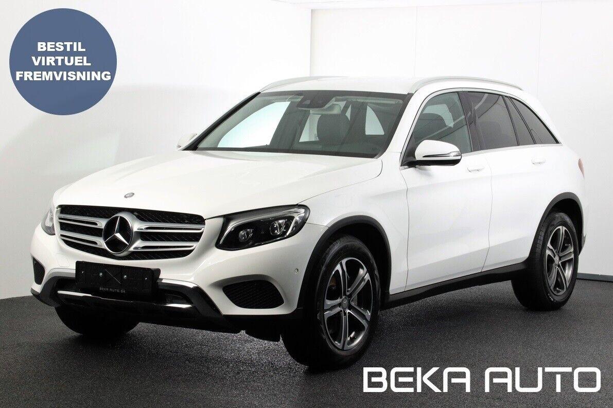 Mercedes GLC220 d 2,2 aut. 4-M 5d - 439.800 kr.