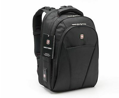Swiss Travel Business Laptop Rucksack 15,6 Notebook Geschäfts Tasche Reisetasche Exquisite Handwerkskunst; Notebooktaschen Büro & Schreibwaren