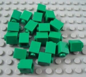 LEGO Lot of 2 Green 1x10 Brick Pieces