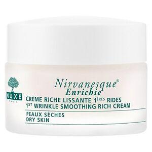 Creme Nirvanesque Nuxe 1.7 oz Wrinkle Creme Unisex Rose Moisture Plus With Antioxidant Complex Moisturising Cream  40ml/1.4oz