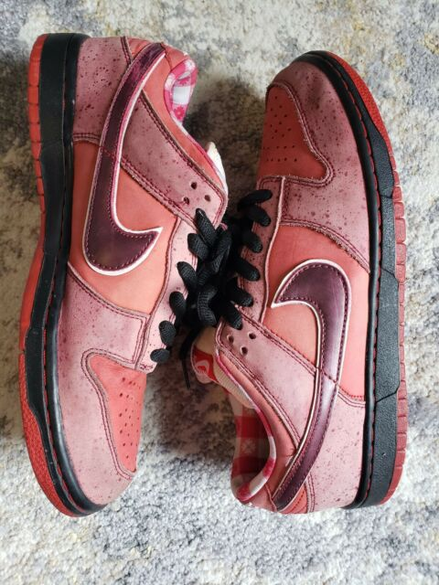timeless design ee268 24ba3 Nike x Concepts SB Dunk Low Red Lobster Size 10 Used 2008