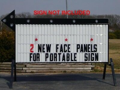 Letter Outdoor Marquee Readerboard