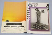 RARE_ NAIM News 2000 Original 16-page Brochure NAIT 5,NAT 05,CD5,NAC 112,NAP 150