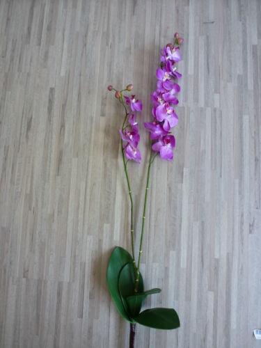 Orchidee Phalaenopsis 2 Rispen Seidenblume lavendel pink 98 cm 60085-20 F4