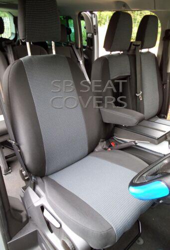 adaptarse Custom Modelo Sport a Uk Ford asiento Fundas de Tela Transit Gris un Para Van dTqwfXxd