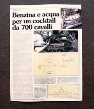 AP75- Clipping-Ritaglio - 1982 - TECNICA F.1 , IL SEGRETO DELLA FERRARI