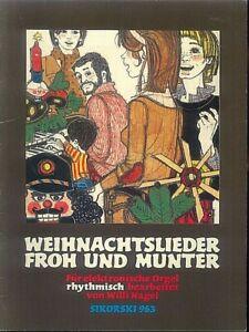 Willi-Nagel-034-Weihnachtslieder-Froh-und-Munter-034-fuer-e-Orgel