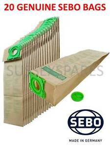 10 x 5093ER Vacuum Cleaner Bags for SEBO 370 Electronic Hoover NEW UK Stock